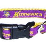 Minnesota Vikings NFL Dog Collar