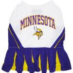 Minnesota Vikings NFL Dog Cheerleader Outfit