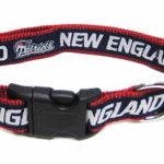 New England Patriots NFL Dog Collar