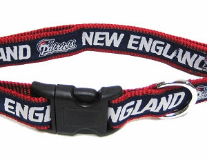 New England Patriots NFL Dog Collar