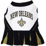 New Orleans Saints NFL Dog Cheerleader Outfit