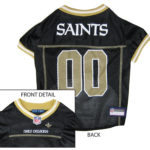 New Orleans Saints NFL Dog Jersey