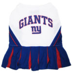 New York Giants NFL Dog Cheerleader Outfit