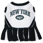 New York Jets NFL Dog Cheerleader Outfit