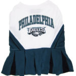 Philadelphia Eagles NFL Dog Cheerleader Outfit