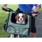 Pet Bike Basket 3-in-1 (Sage)