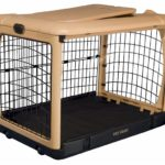 Deluxe Steel Dog Crate With Pad by Pet Gear