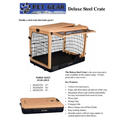 The Other Door Dog Crate Images Doors Design Modern
