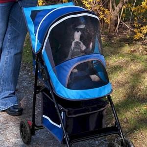 Sport Pet Stroller - Blue