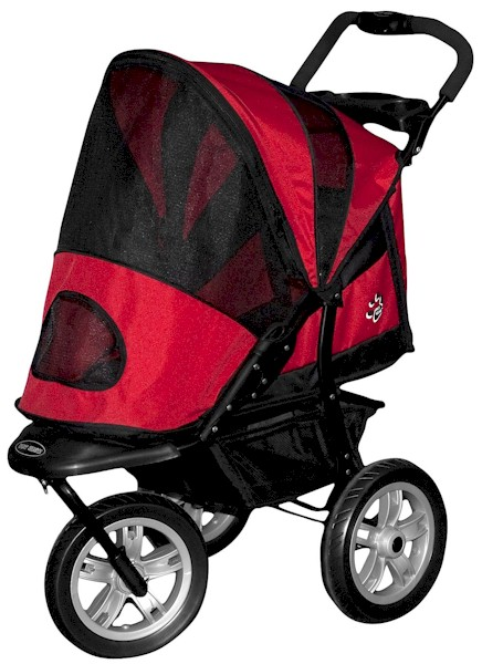 AT3 Generation 2 All-Terrain Pet Stroller - Red
