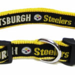 Pittsburgh Steelers NFL Dog Collar