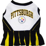 Pittsburgh Steelers NFL Dog Cheerleader Outfit