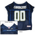 San Diego Chargers NFL Dog Jersey