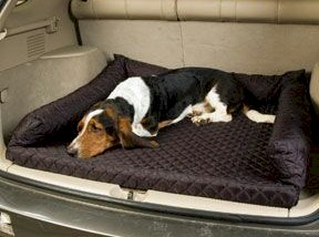 SUV Cargo Liner and Bed - Black Quilt