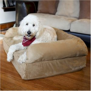 Luxury Sofa Pet Bed with Memory Foam