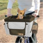 Pet Bicycle Basket (Grey)
