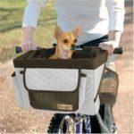 Pet Bicycle Basket (Grey)
