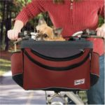 Sporty Pet Bike Basket (Red)