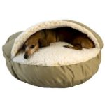 Luxury Orthopedic Cozy Cave Dog Bed by Snoozer