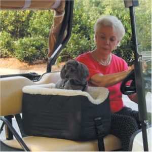 Snoozer Golf Cart Lookout Pet Seat