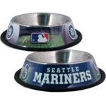 Seattle Mariners dog bowl