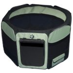 Travel Lite Soft Sided Pet Pen Sage