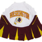 Washington Redskins NFL Dog Cheerleader Outfit