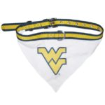 West Virginia University Mountaineers Dog Collar Bandana
