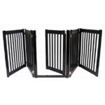 Walk Through Freestanding 5 Panel Pet Gate