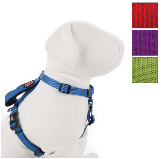 Car Harness Dog >> KONG On-The-Go Adjustable Harness | HoundAbout