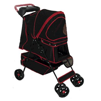 Walkie Pet Stroller - Black