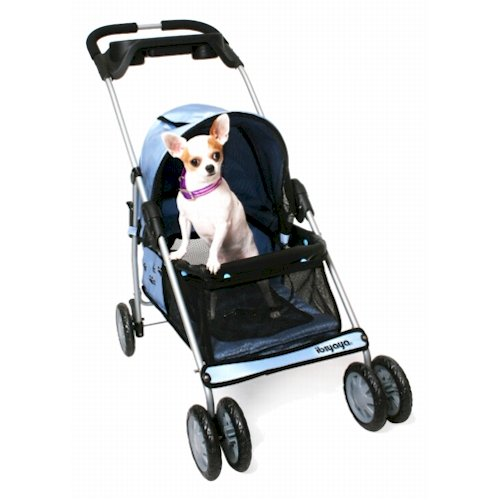 Urban Vogue Pet Stroller - Blue