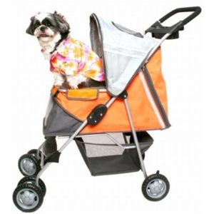 Sport Pet Stroller - Orange