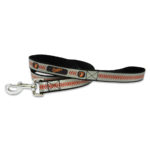 Baltimore Orioles Reflective Nylon Dog Leash Size Large
