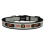 Baltimore Orioles Reflective Nylon Dog Collar Size Large