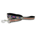 Cleveland Indians Reflective Nylon Dog Leash Size Large