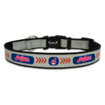 Cleveland Indians Reflective Nylon Dog Collar Size Large