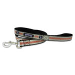 Colorado Rockies Reflective Nylon Dog Leash Size Large