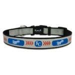 Kansas City Royals Reflective Nylon Dog Collar Size Large