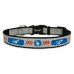 Los Angeles Dodgers Reflective Nylon Dog Collar Size Large