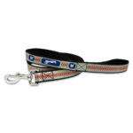 Milwaukee Brewers Reflective Nylon Dog Leash Size Large