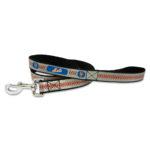 New York Mets Reflective Nylon Dog Leash Size Large