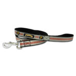 Pittsburgh Pirates Reflective Nylon Dog Leash Size Large