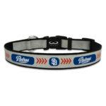 San Diego Padres Reflective Nylon Dog Collar Size Large