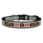 San Francisco Giants Reflective Nylon Dog Collar Size Large