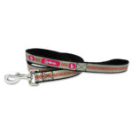 St. Louis Cardinals Reflective Nylon Dog Leash Size Large