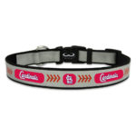 St. Louis Cardinals Reflective Nylon Dog Collar Size Large