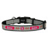 St. Louis Cardinals Reflective Nylon Dog Collar Size Small
