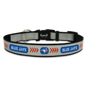Toronto Blue Jays Reflective Nylon Dog Collar Size Large