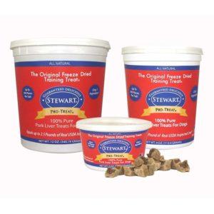 Stewart Pro-Treat Freeze Dried Pork Liver
